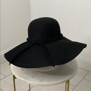 Topshop wool black hat